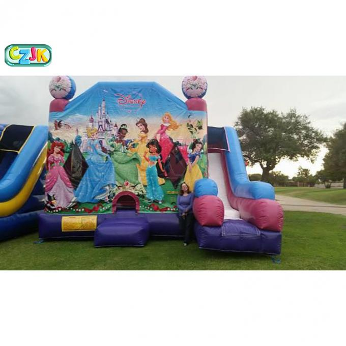Friendly Inflatable Bounce House Combo Double