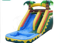 Funny Jumbo Blow Up Water Slide  0.55mm PVC Material Unique Design