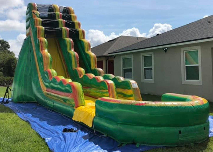 Popular Inflatable Backyard Water Slide And Pool Safe And ...